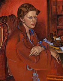 Froanna, the Artist's Wife - Wyndham Lewis