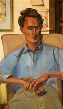Stephen Spender (1909–1995) - Wyndham Lewis