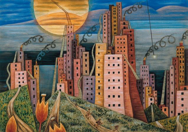 Ciuda Lagui, 1939 - Xul Solar