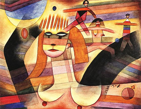 Dos Parejas, 1924 - Xul Solar