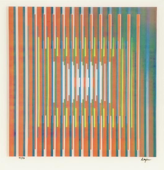 In Deep Prayer - Yaacov Agam