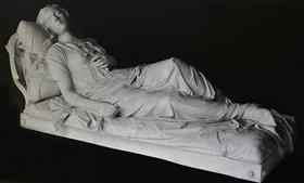 Beauty (cast from the family tomb of Wisdom Afentaki in the First Cemetery of Athens) - Yannoulis Chalepas