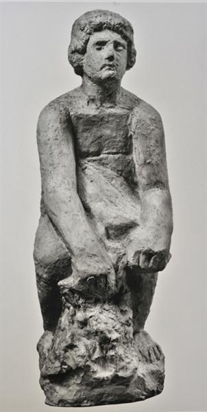 The reaper, 1930 - Yannoulis Chalepas