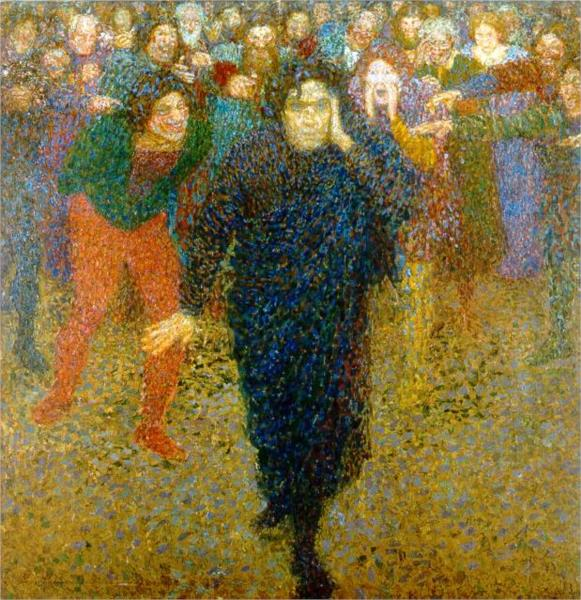 The Genius and the Crowd, 1909 - Yeghishe Tadevosyan