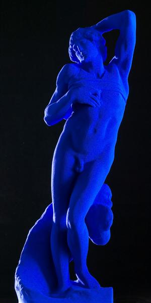 Dying - Yves Klein