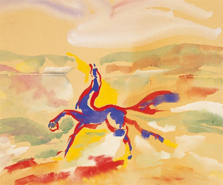Horse, c.1949 - Yves Klein