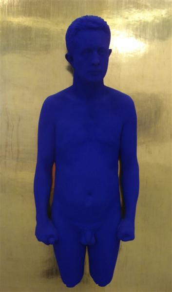 Portrait Relief PR3 (Portrait of Claude Pascal), 1962 - Yves Klein