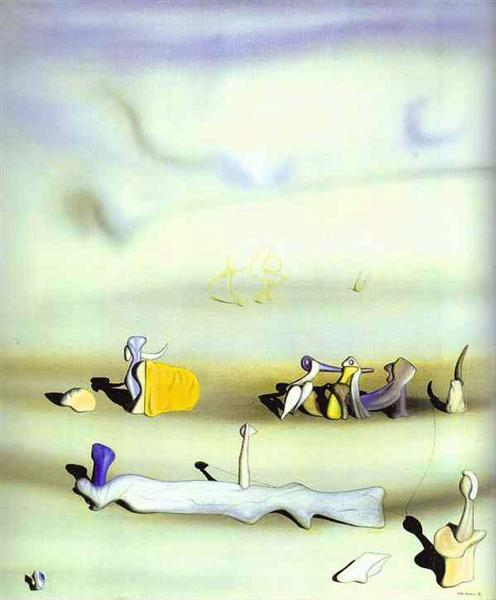 Tomorrow, 1938 - Yves Tanguy