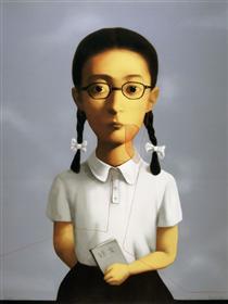 Big Family Girl - Zhang Xiaogang