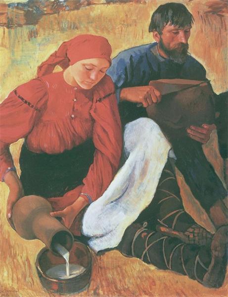 Крестьяне, 1914 - Зинаида Серебрякова