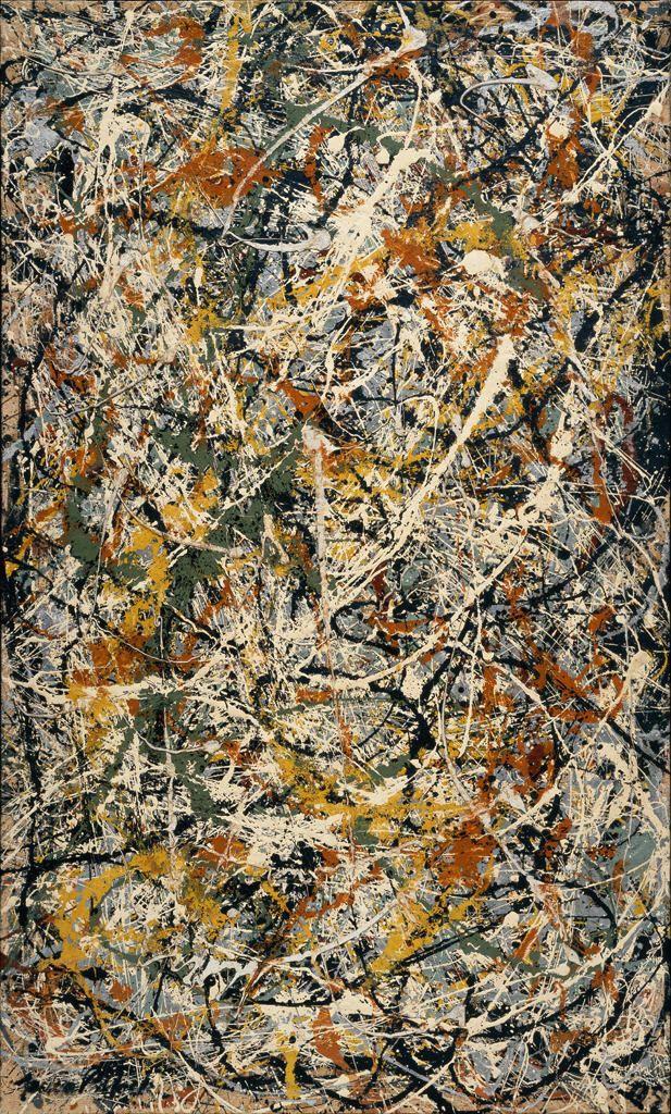 Diagram Number 3 1949 Jackson Pollock