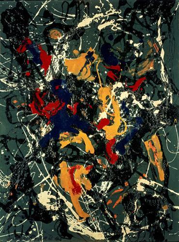 Number 3 - Jackson Pollock