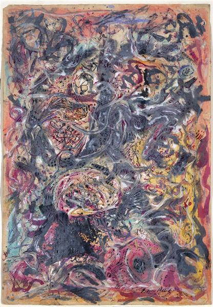 Pattern, 1945 - Jackson Pollock