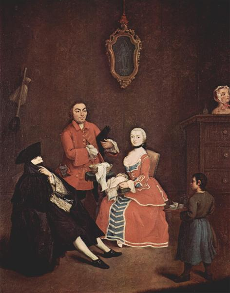 The hairdresser - Pietro Longhi